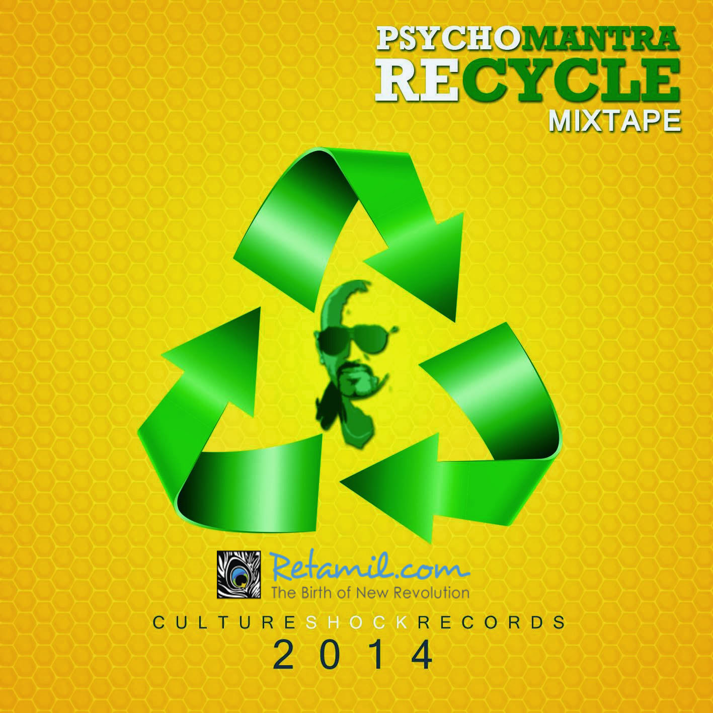Awa Awa - PsychoMantra feat Crank [ Recycle Mixtape ]