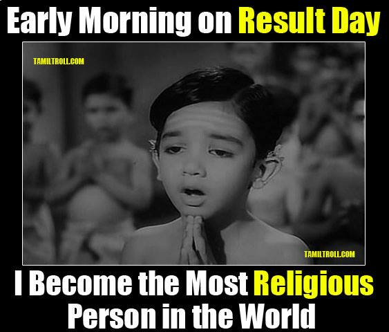 Early Morning on Result Day