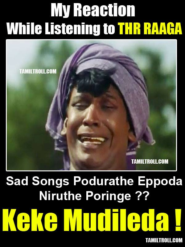 My Reaction While Listening To THR Raaga
