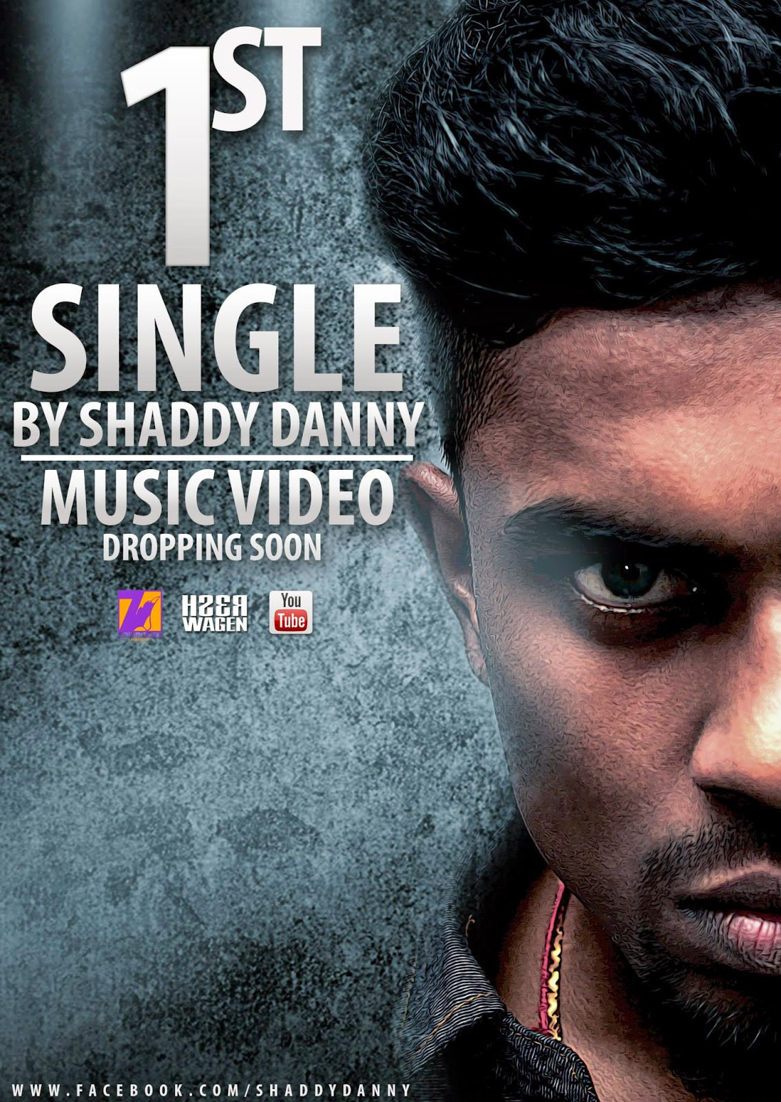 Shaddy Danny's first single preview poster