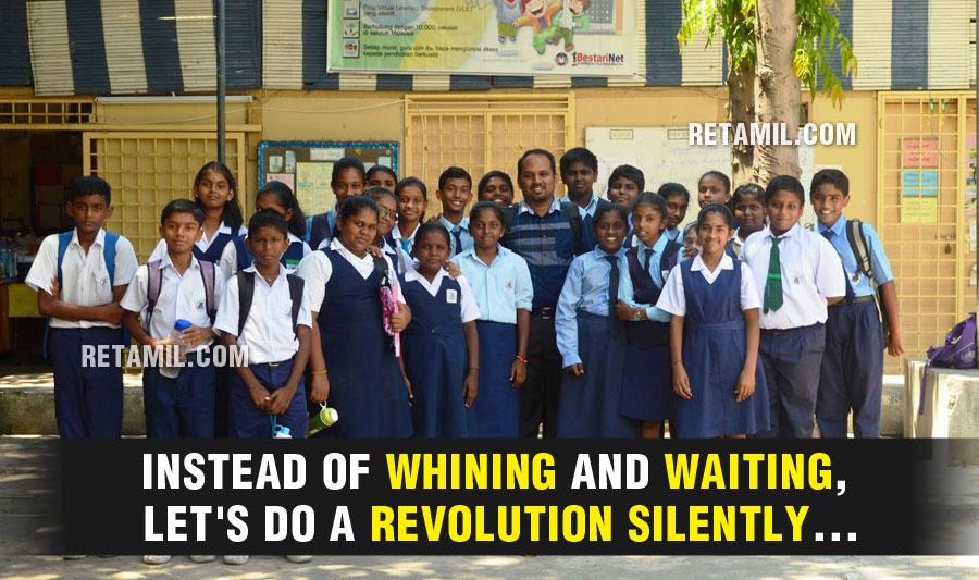Tamil Schools - The Silent Revolution
