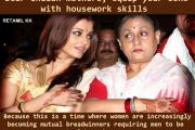 Indian mothers - don't betray your sons and future Daughters-in-law by not teaching your sons housework